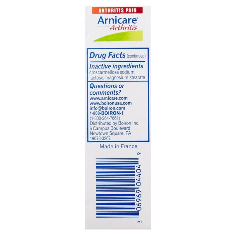 Boiron Arnicare Arthritis 60 Tablets