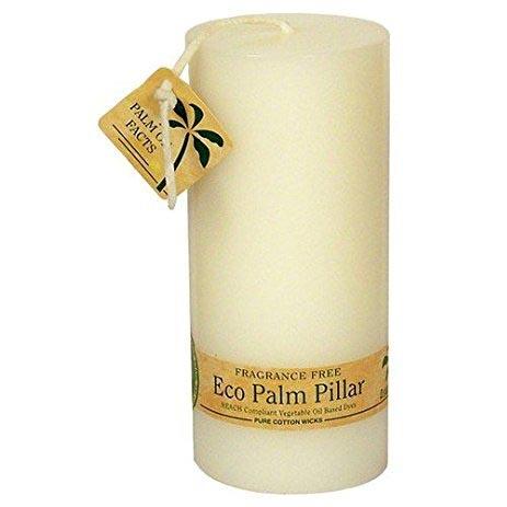 Aloha Bay Unscented White Pillar Candle 2 1/4 X 5