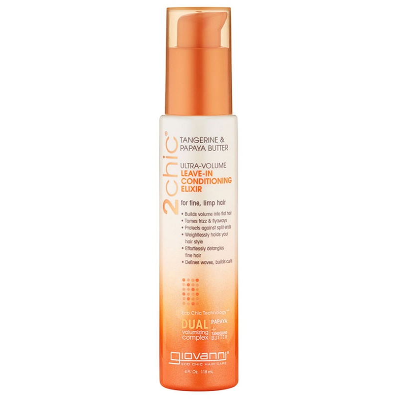 Giovanni Ultra- Volume Leave- In Conditioning Elixir 4 Fl. Oz