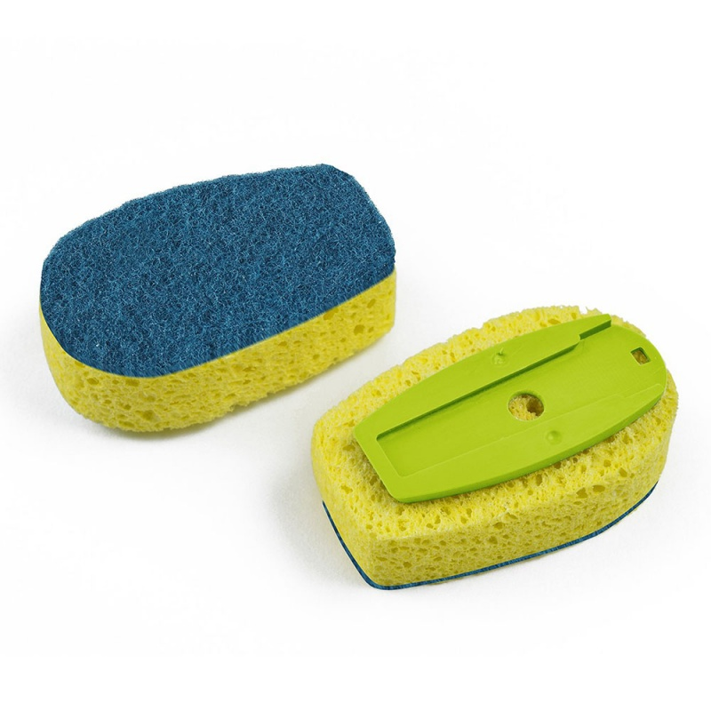 Full Circle Green Suds Up Dish Sponge Replacement Head2 2 Count
