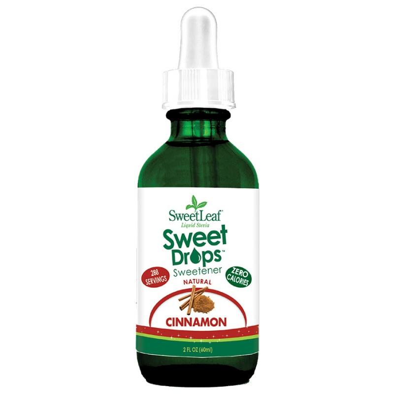 Sweetleaf Cinnamon Sweet Drops 2 Fl. Oz.