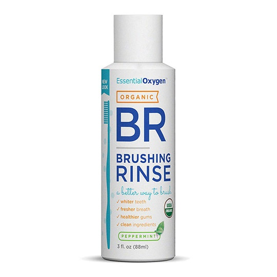 Essential Oxygen Organic Peppermint Brushing Rinse