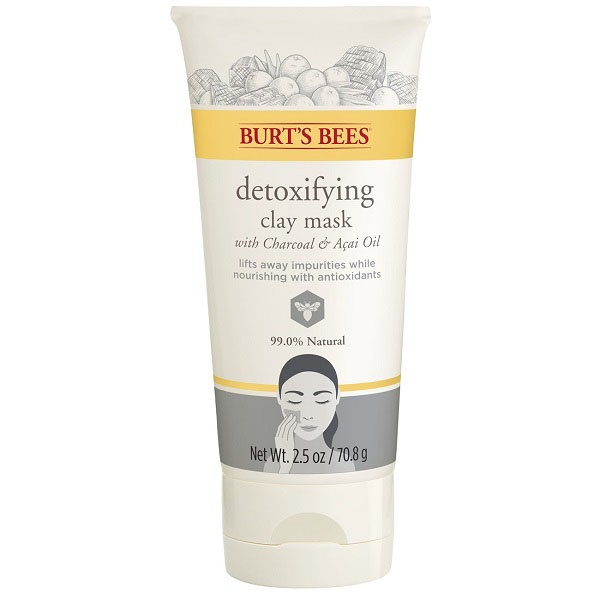 Burt's Bees Facial Care Detoxifying Clay Mask 2.5 Oz