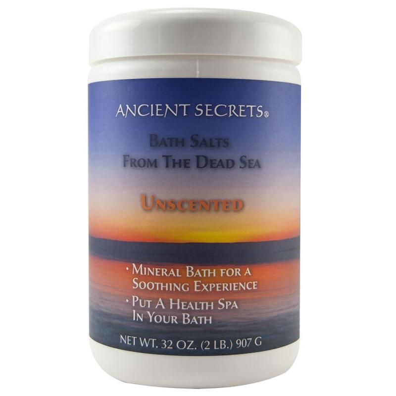 Ancient Secrets Unscented Mineral Bath 32 Oz.