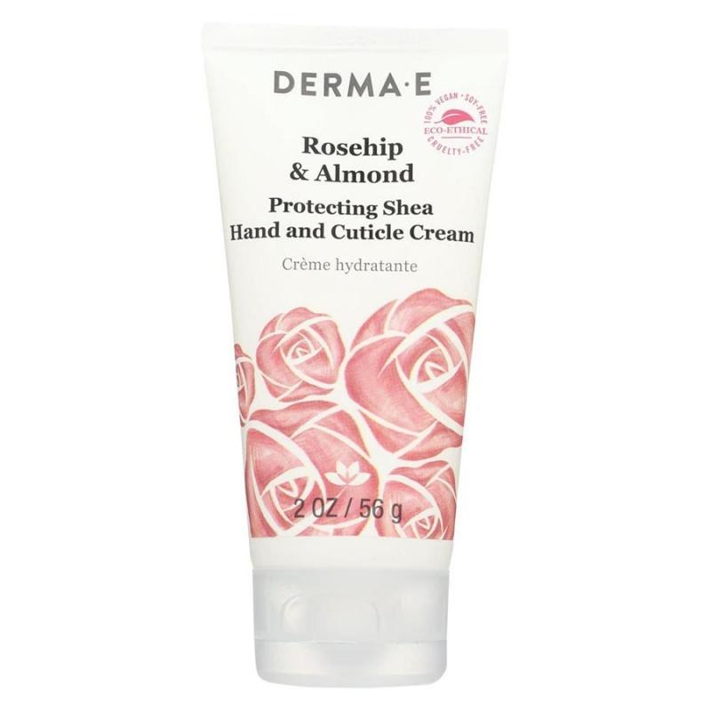 Derma E Protecting Rosehip & Almond Hand Cream 2 Oz
