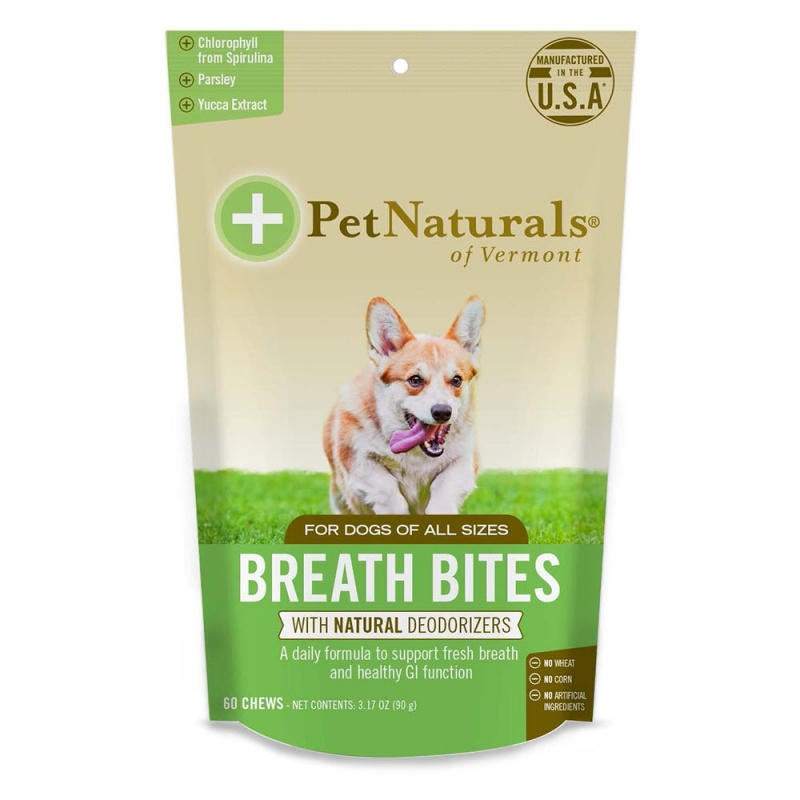 Pet Naturals Breath Bites For Dogs 60 Chews
