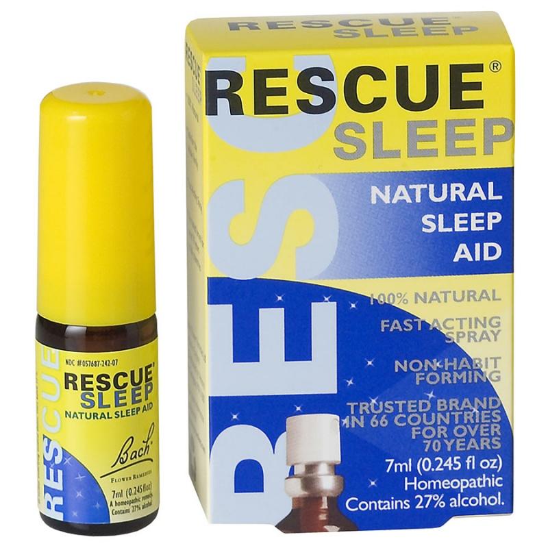 Bach Flower Remedies Rescue Sleep Spray 7 Ml