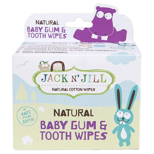 Jack N' Jill Natural Baby Gum & Tooth Wipes