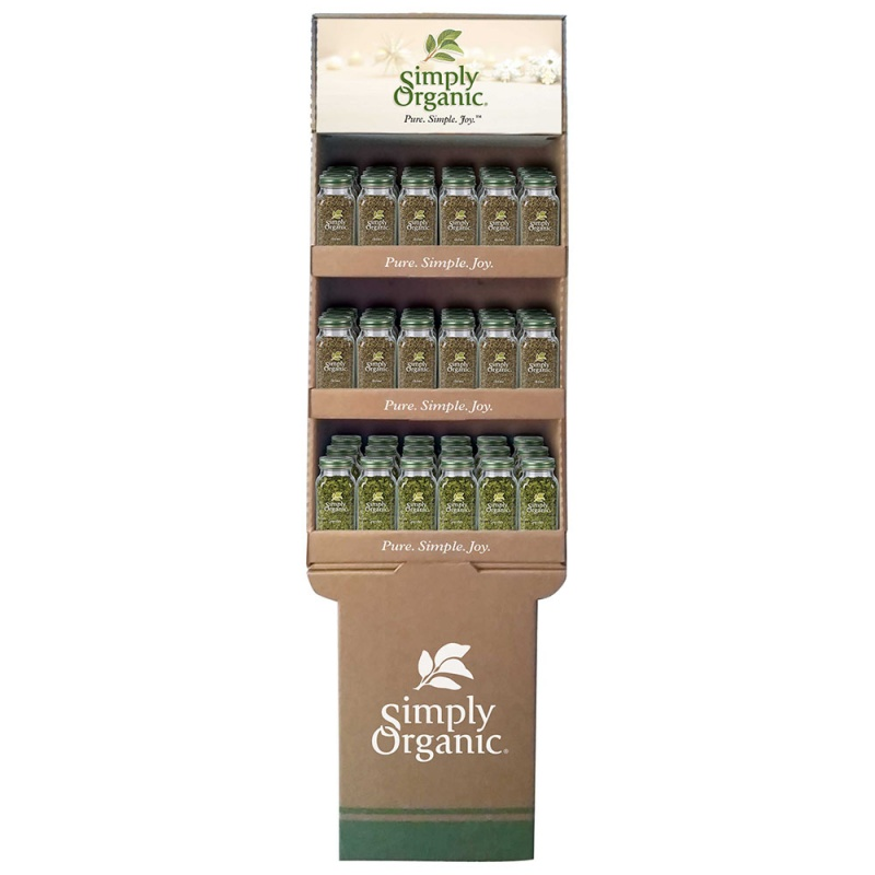 Simply Organic Parsley And Thyme Shipper 54 Ct