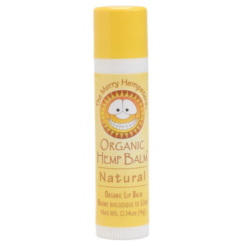 The Merry Hempsters Natural Organic Hemp Lip Balm 0.14 Oz