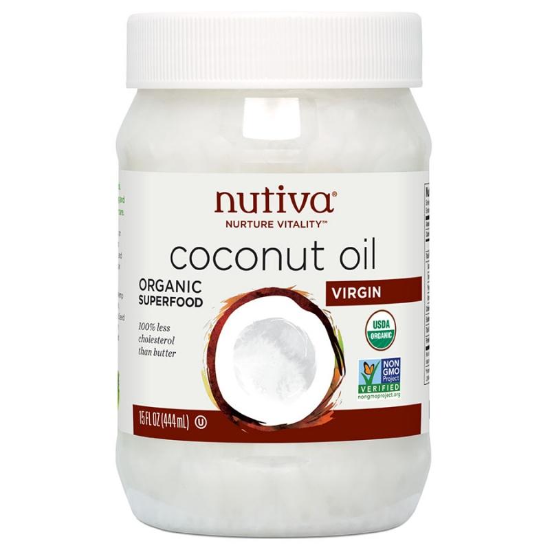 Nutiva Virgin Coconut Oil 15 Oz