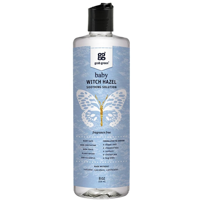 Grab Green Fragrance- Free Witch Hazel Soothing Solution