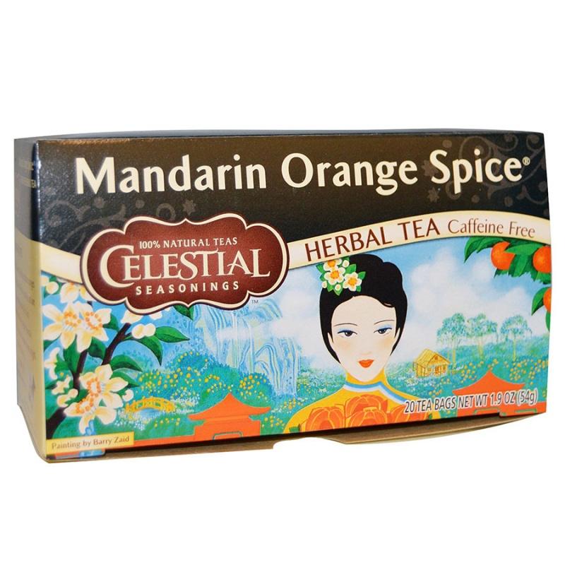 Celestial Seasonings Mandarin Orange Spice Tea 20 Tea Bags