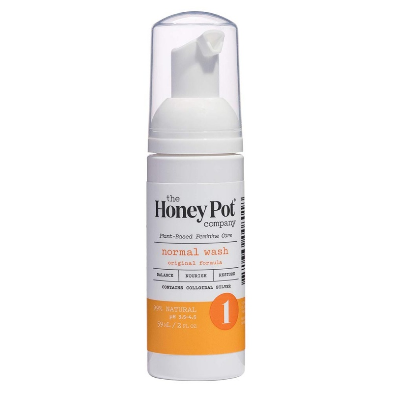The Honey Pot Normal Foaming Intimate Wash 5.51 Oz
