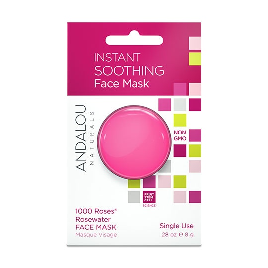 Andalou Naturals Beauty 2 Go Soothing Face Mask Pod 0.28 Oz.