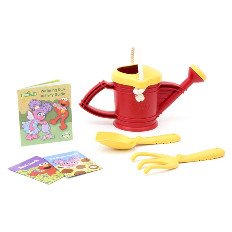 Green Toys Elmo Watering Can Activity Set For 3-6 Years