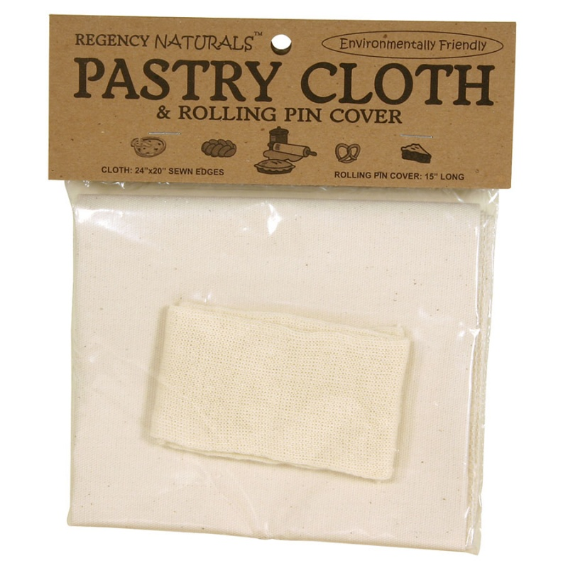 H I C Pastry Cloth And Rolling Pin Cover