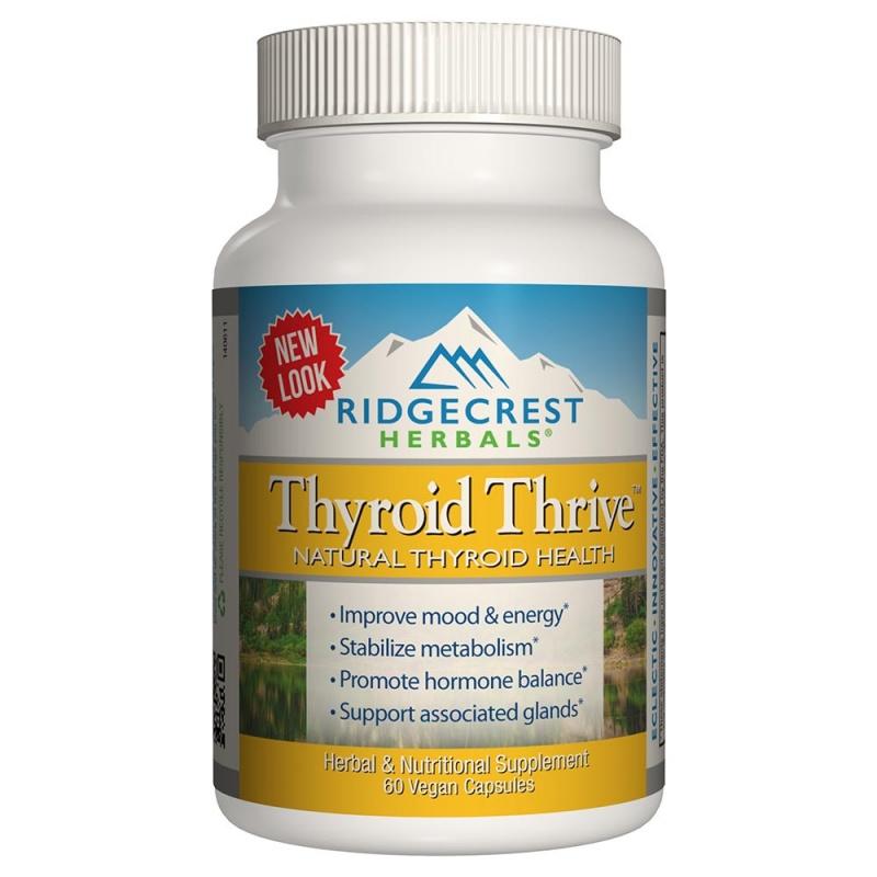 Ridgecrest Herbals Thyroid Thrive 60 Count