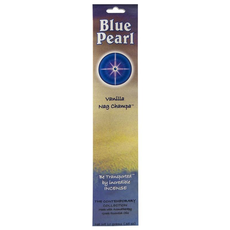 Blue Pearl Vanilla Nag Champa Incense 10 Grams