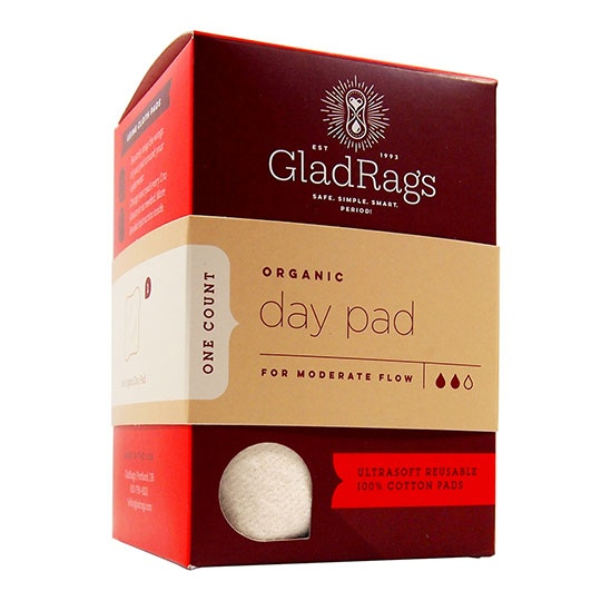 Glad Rags Undyed Washable Day Pad 1-Pack