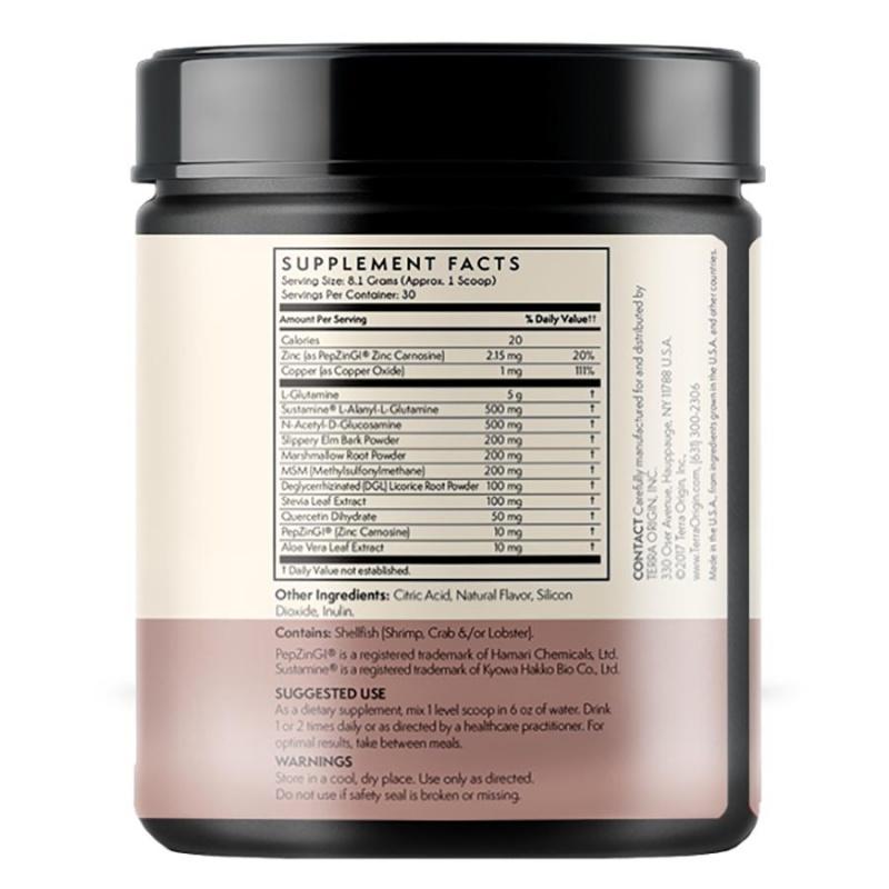 Terra Origin Healthy Gut Powder Berry 8.57 Oz