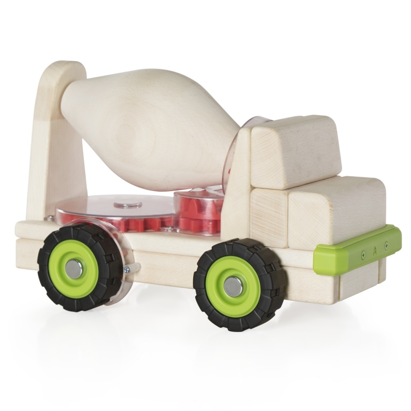 Guidecraft Block Science – Big Cement Mixer Truck