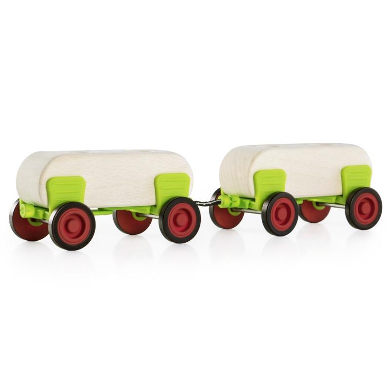 Guidecraft Block Science Cars Set