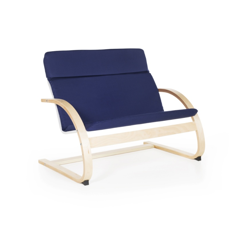 Guidecraft Nordic Couch – Blue