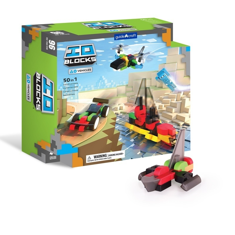 Io Blocks® Vehicles - 96 Pc. Set