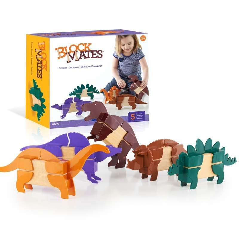 Block Mates® - Dinosaur