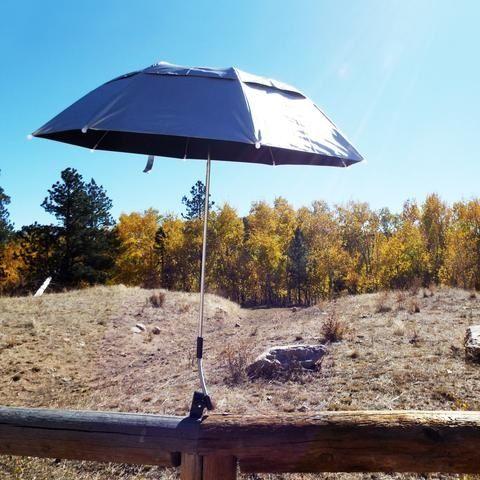 Silver Deluxe Soft Clamp Umbrella™