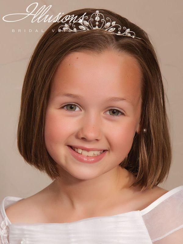 Illusions Bridal Flower Girl and First Communion Accessories 3190