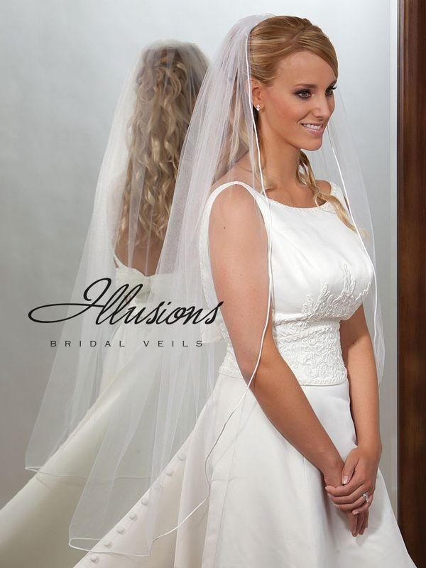 Illusions Bridal Rattail Edge Veil 7-451-RT