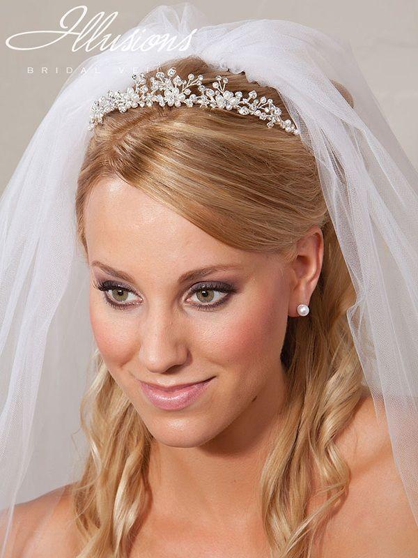 Illusions Bridal Rhinestone Bridal Tiaras 2787