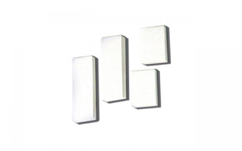 """""""sparkle White"""" Vinyl Eraser Inovart Karve Majik Printing Plate 12"""" X 18"""""""