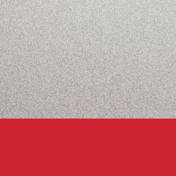 "Berries® Round Activity Table - 42"" Diameter, E-Height - Gray/Red/Gray"