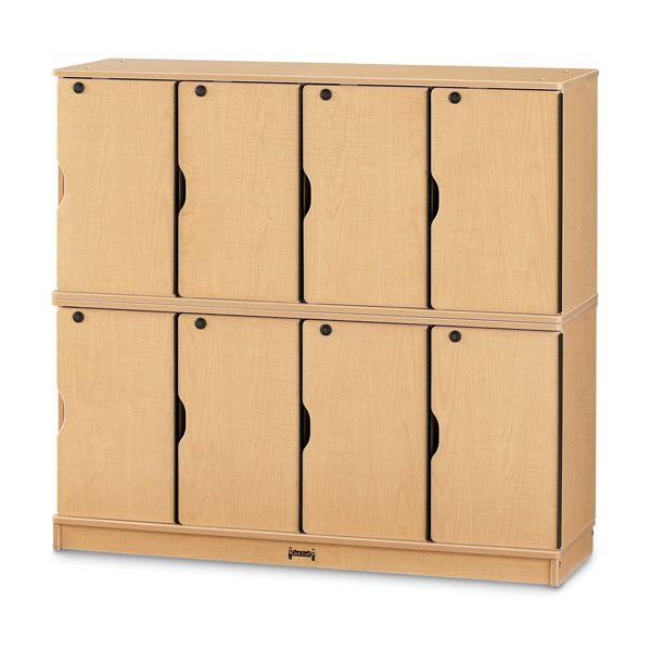 Maplewave®Stacking Lockable Lockers - Single Stack