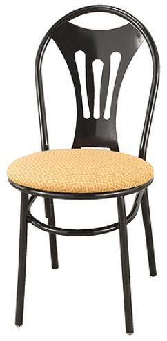 """KFI 3251-WS """"3200"""" Series Cafe Chair with Wood Seat"""