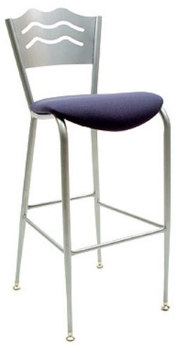 """KFI BR3818LB-US """"3800"""" Series Cafe Chair with Upholstered Seat: Without Arms"""