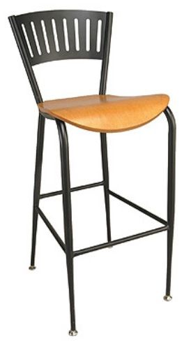 """KFI BR3818LA-US """"3800"""" Series Cafe Chair with Upholstered Seat: Without Arms"""