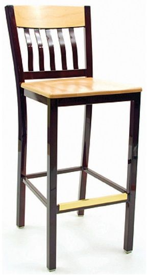 """KFI BR3990C-WS """"3900"""" Series Chairs with Wood Seat: Without Arms"""