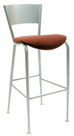 """KFI BR3818LC-WS """"3800"""" Series Cafe Chairs with Wood Seat: Without Arms"""