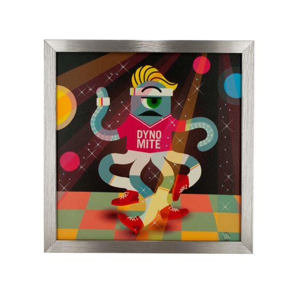 Alien Dyno Octopete Musical Light Up Art