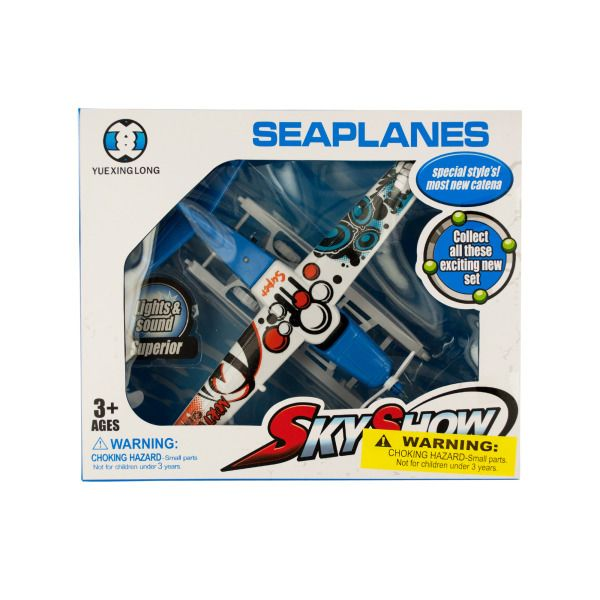 Toy Seaplane With Light & Sound, Pack Of 2