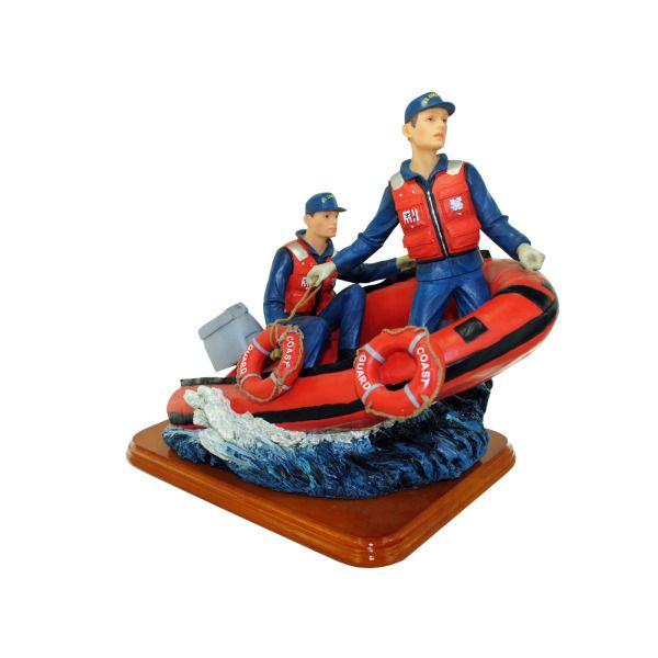 Coast Guard Sculpture, Pack Of 2