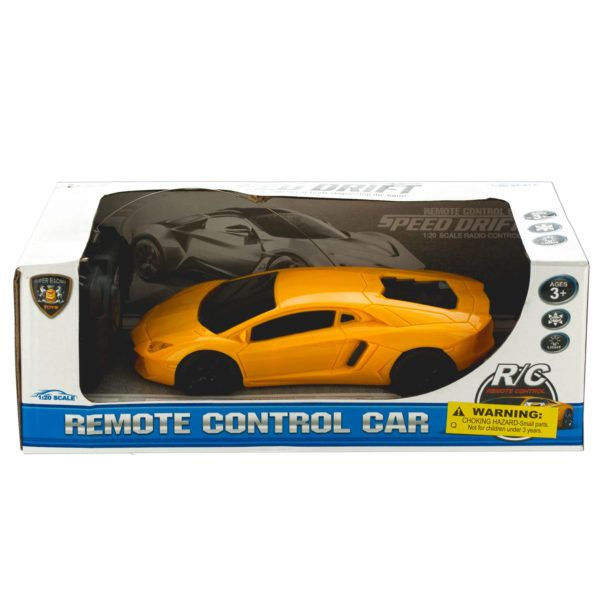 Remote Control Super Race Car With Headlights, Pack Of 2