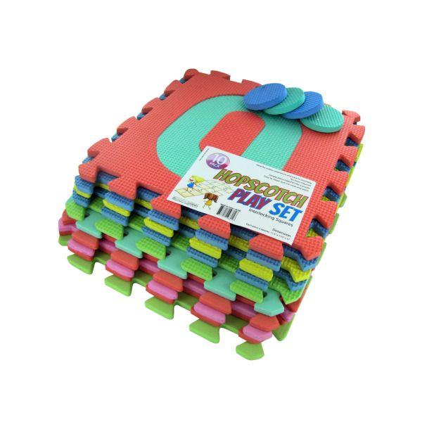 10 Piece Hopscotch Play Set, Pack Of 2