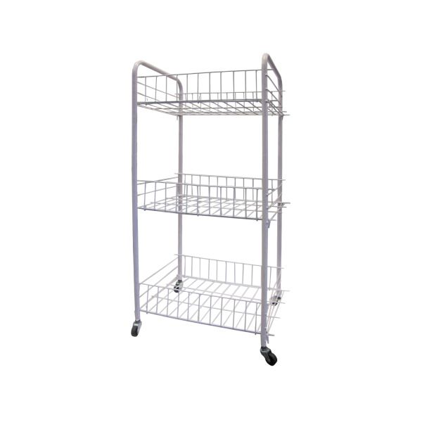 3-Tier Storage Cart With Wheels