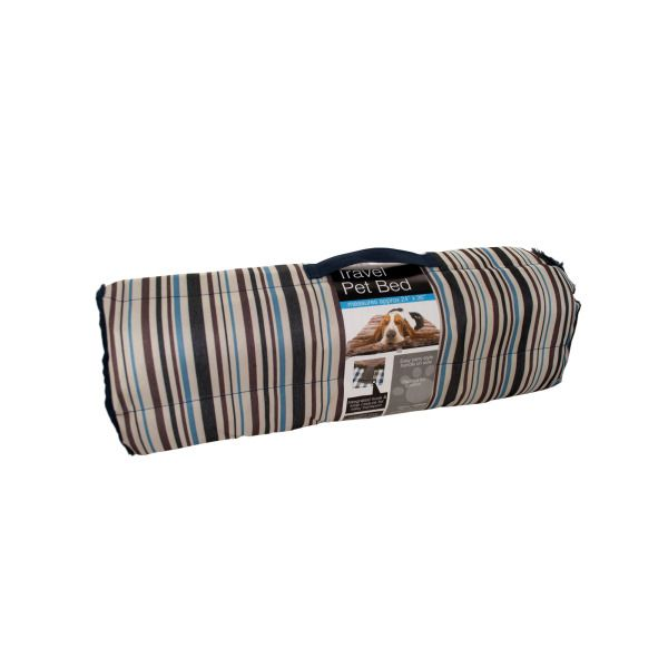 Roll-up Home & Travel Pet Bed With Carry Handle
