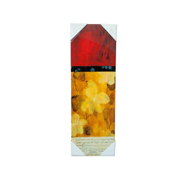 Abstract Red And Orange Wall Art